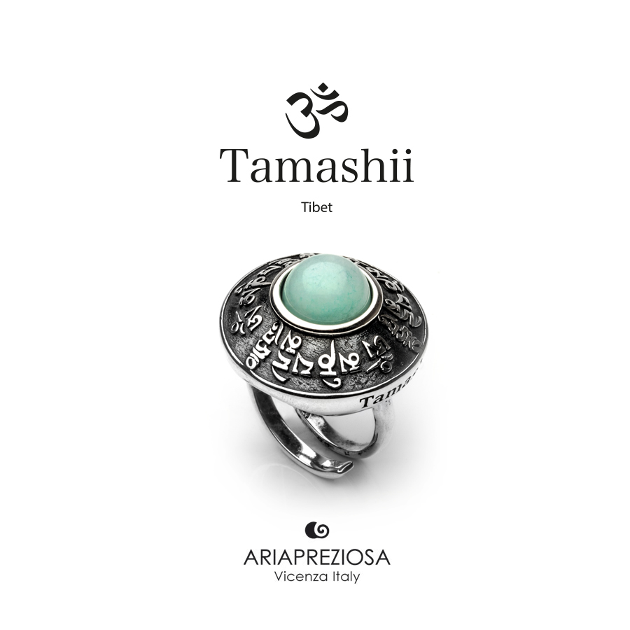 Tamashii Ring RIG ZVA Blue Sky Agate