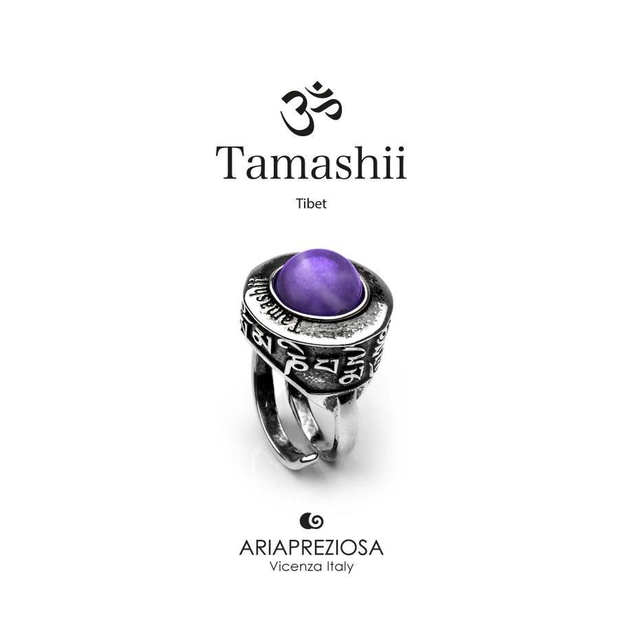 Anello Tamashii PAN ZVA Ametista