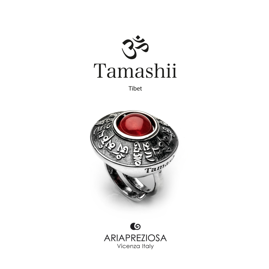 Tamashii Ring RIG ZVA Red Passion Agate