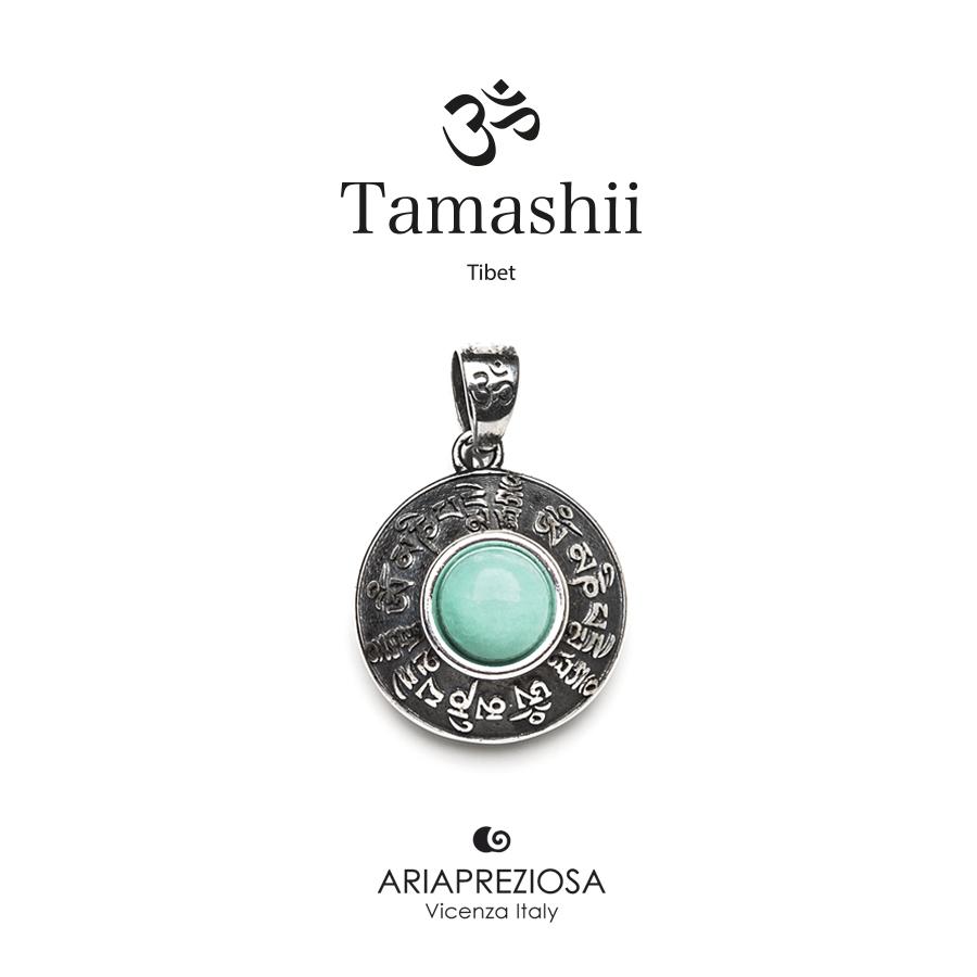 Tamashii Silver Pendant RIG ZVA Blue Sky Agate