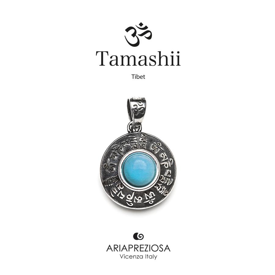 Tamashii Silver Pendant RIG ZVA Turquoise