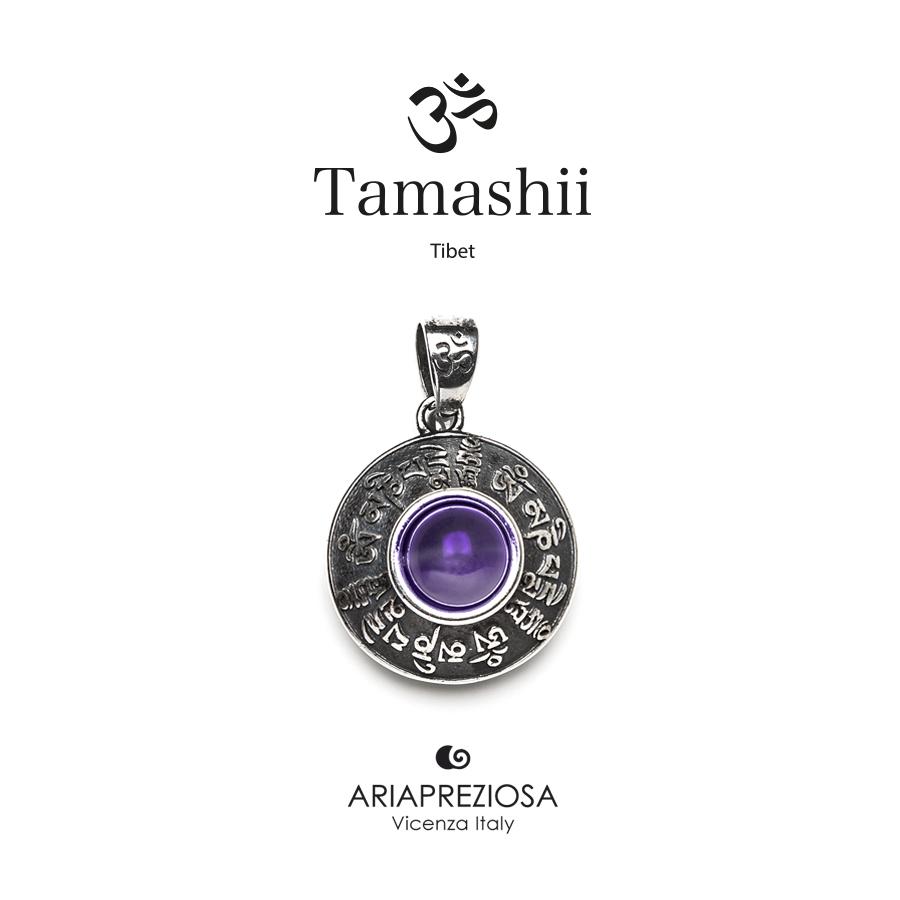 Tamashii Silver Pendant RIG ZVA Amethyst