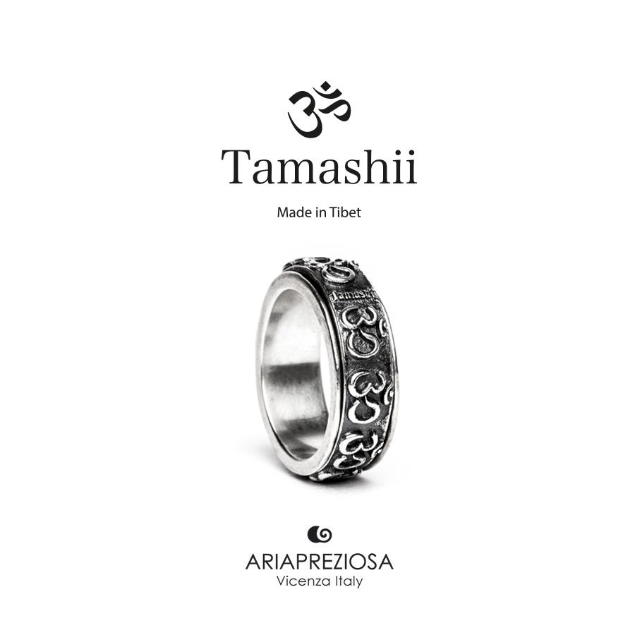 Anello Tamashii in Argento