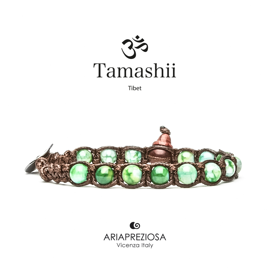 Tamashii Green Mint Agate (6mm)