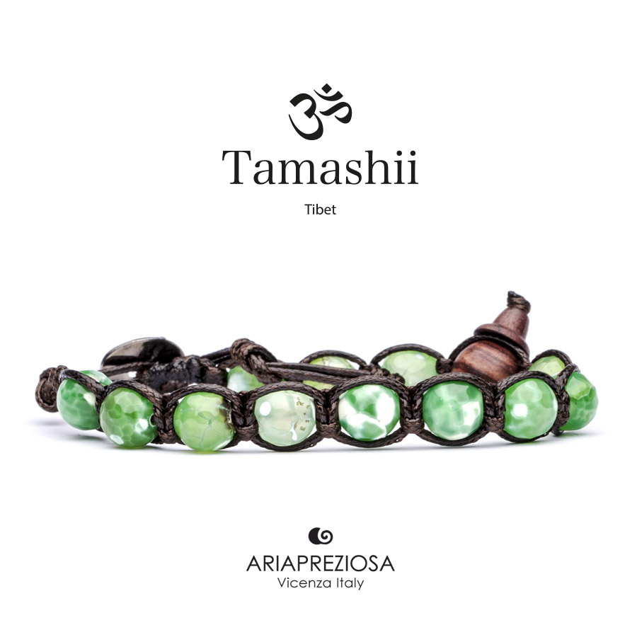 Tamashii Cracked Green Agate