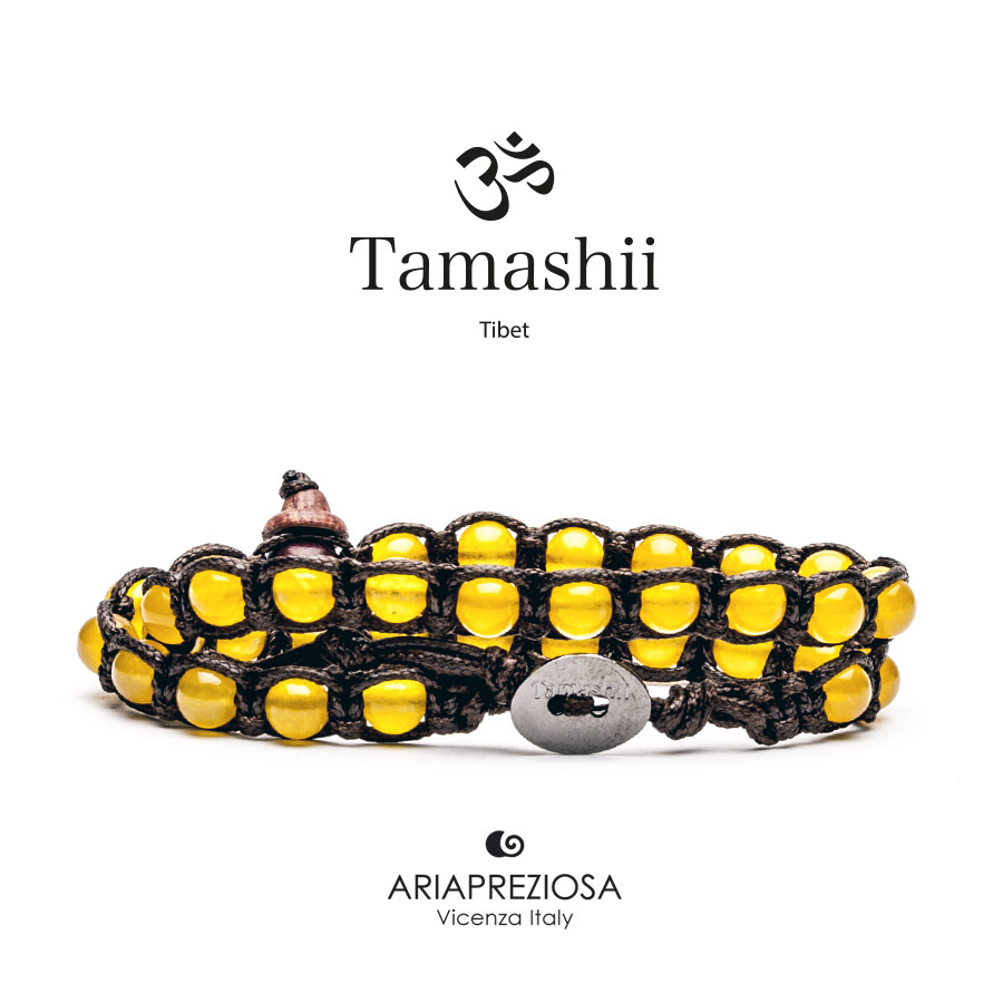 Tamashii Yellow Agate - Long