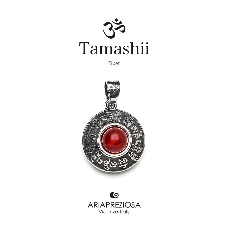 Tamashii Silver Pendant RIG ZVA Red Passion Agate
