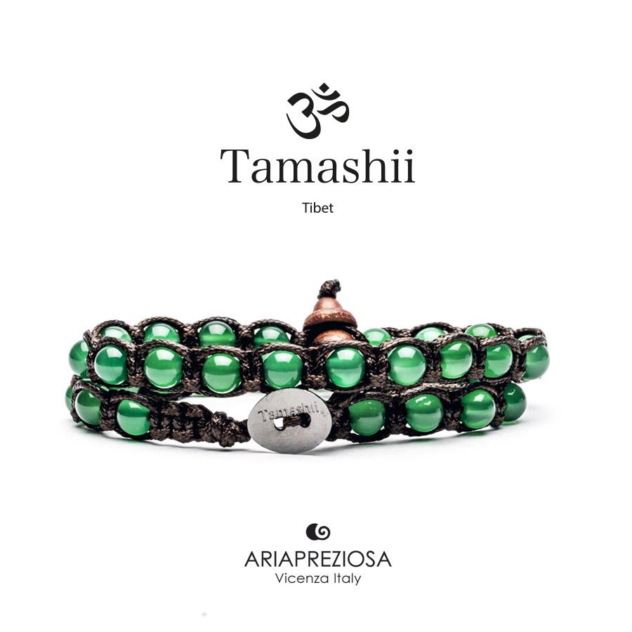 Tamashii Green Agate - Long