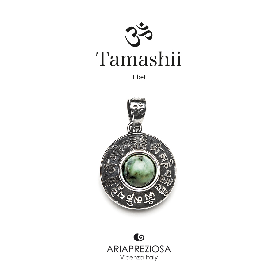 Tamashii Silver Pendant RIG ZVA African Turquoise