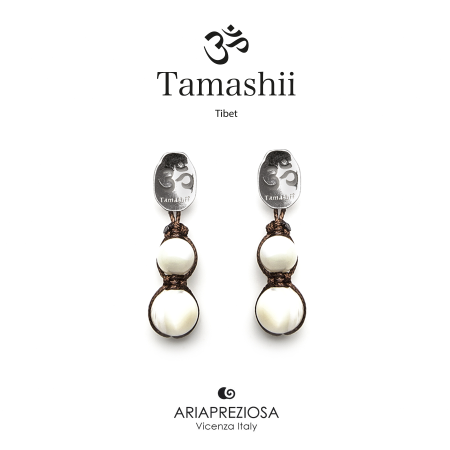 Tamashii Silver Earrings Mother of Pearl