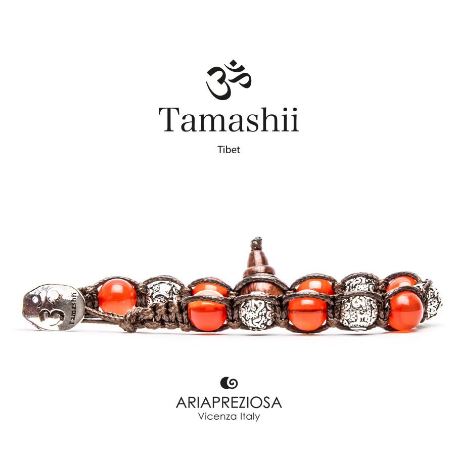 Tamashii Prayer Wheel Red Passion Agate