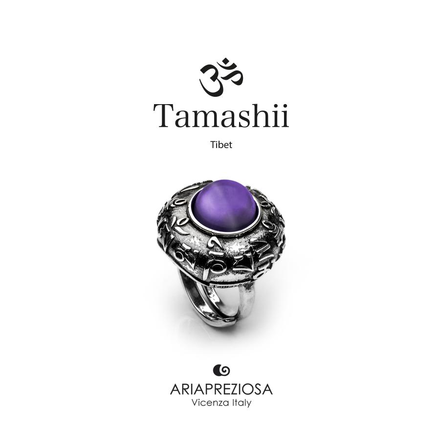 Anello Tamashii DVAGS ZVA Ametista